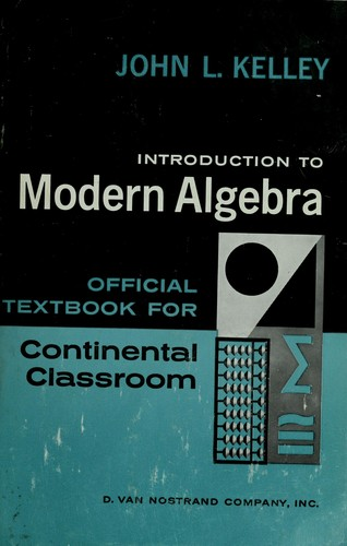 Download Introduction to modern algebra