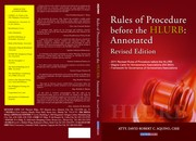 2011 revised rules of procedure before the HLURB by David Robert C. Aquino