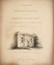 A journey to Beresford Hall, the seat of Charles Cotton, esq., the celebrated author and angler PDF