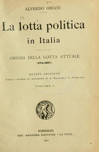 Download La lotta politica in Italia