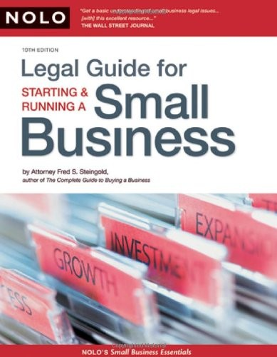Download Legal guide for starting & running a small business