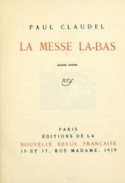 La Messe la-bas PDF