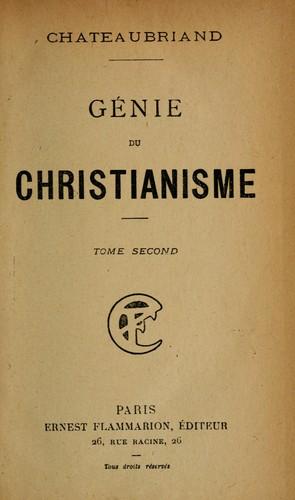 Le génie du christianisme