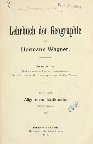Lehrbuch der Geographie