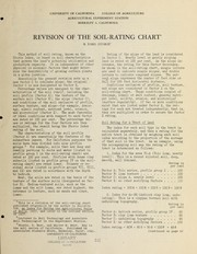 Revision of the soil-rating chart PDF