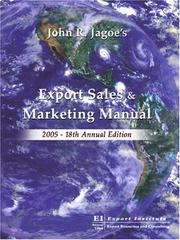 Export Sales & Marketing Manual PDF