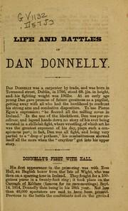 Life & battles of Sir Dan Donnelly PDF