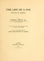 The life of a fox written by himself PDF