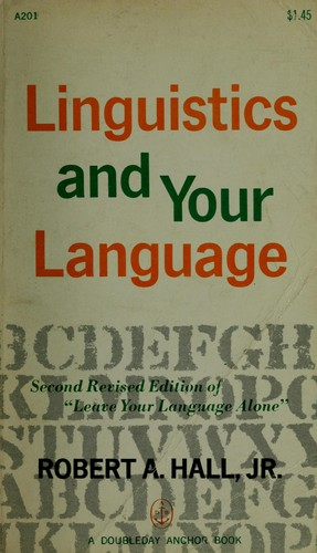 Download Linguistics and your language