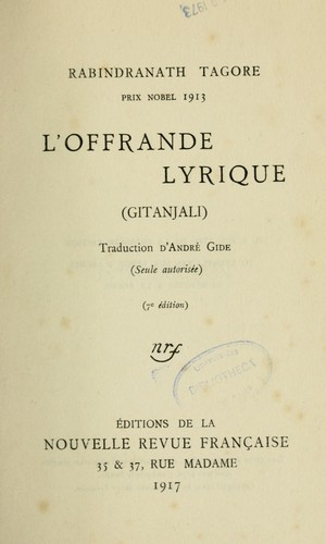 L'Offrande lyrique