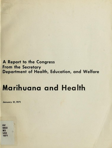 Marihuana and health
