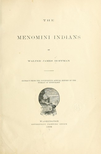 Download The Menomini Indians