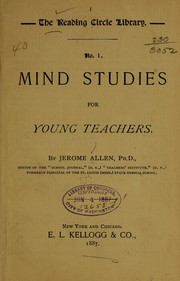 Mind studies for young teachers PDF