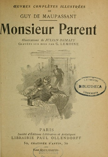 Download Monsieur Parent