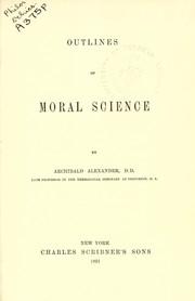 Outlines of moral science PDF