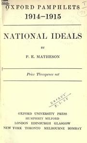 National ideals PDF