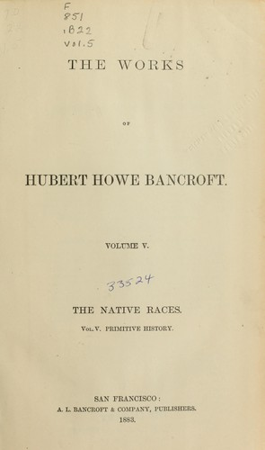 Download The native races of the Pacific states …