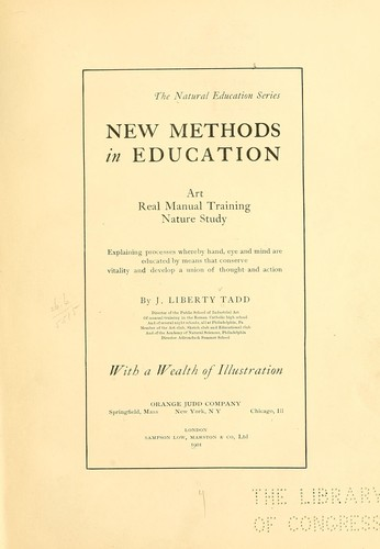 Download New methods in education