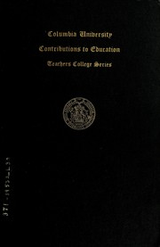 One-room and consolidated schools of Connecticut by Larson, Emil Leonard