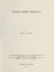 Pathobiology of Burenella dimorpha Jouvenaz and Hazard (Microspora: Microsporida) PDF