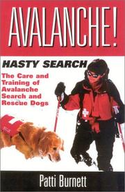 Avalanche! hasty search by Patti Burnett