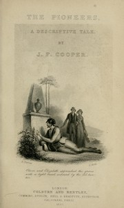 The pioneers by James Fenimore Cooper