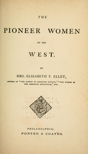 Download The pioneer women of the West