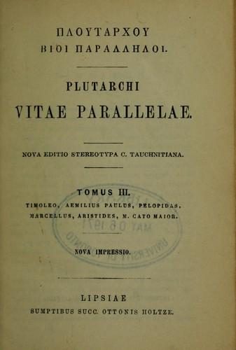 Ploutarchou Bioi parallēloi