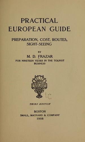 Practical European guide