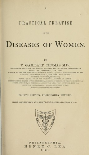 Download A practical treatise on the diseases of women