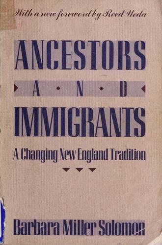 Ancestors and immigrants
