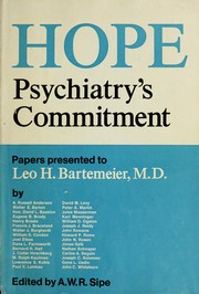 Hope: psychiatry's commitment PDF