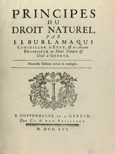 Download Principes du droit naturel
