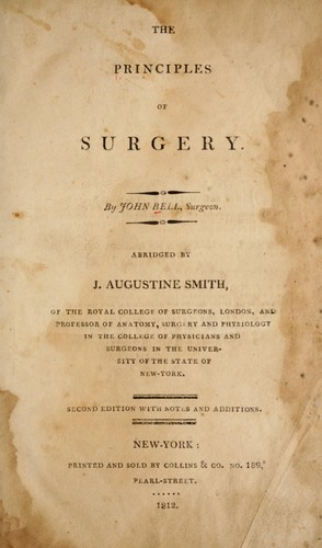 Download The principles of surgery.