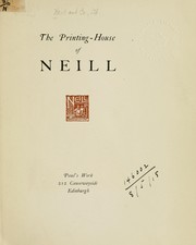 The printing-house of Neill PDF
