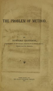 The problem of method PDF