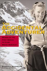 The accidental adventurer by Barbara Washburn