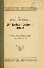 Report, 1909 PDF