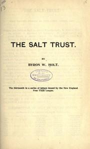 The salt trust PDF