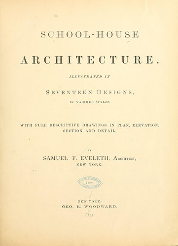 Download School-house architecture