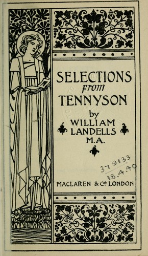 Download Selections from Tennyson