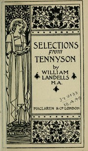 Selections from Tennyson PDF