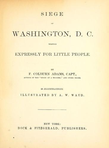 Siege of Washington, D.C.