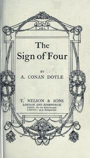 Cover of: The sign of four by Sir Arthur Conan Doyle