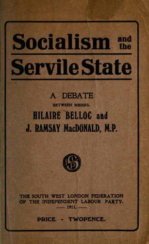 Download Socialism and the servile state