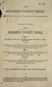 The Soldier's pocket Bible PDF