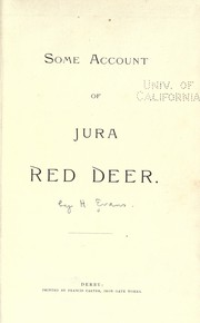 Some account of Jura red deer PDF