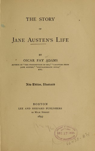 Download The story of Jane Austen's life