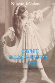 Come dance with me by Ninette De Valois