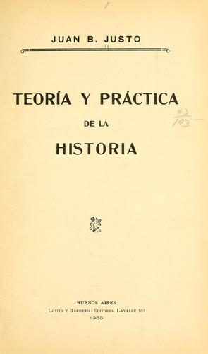 Download Teoría y práctica de la historia.